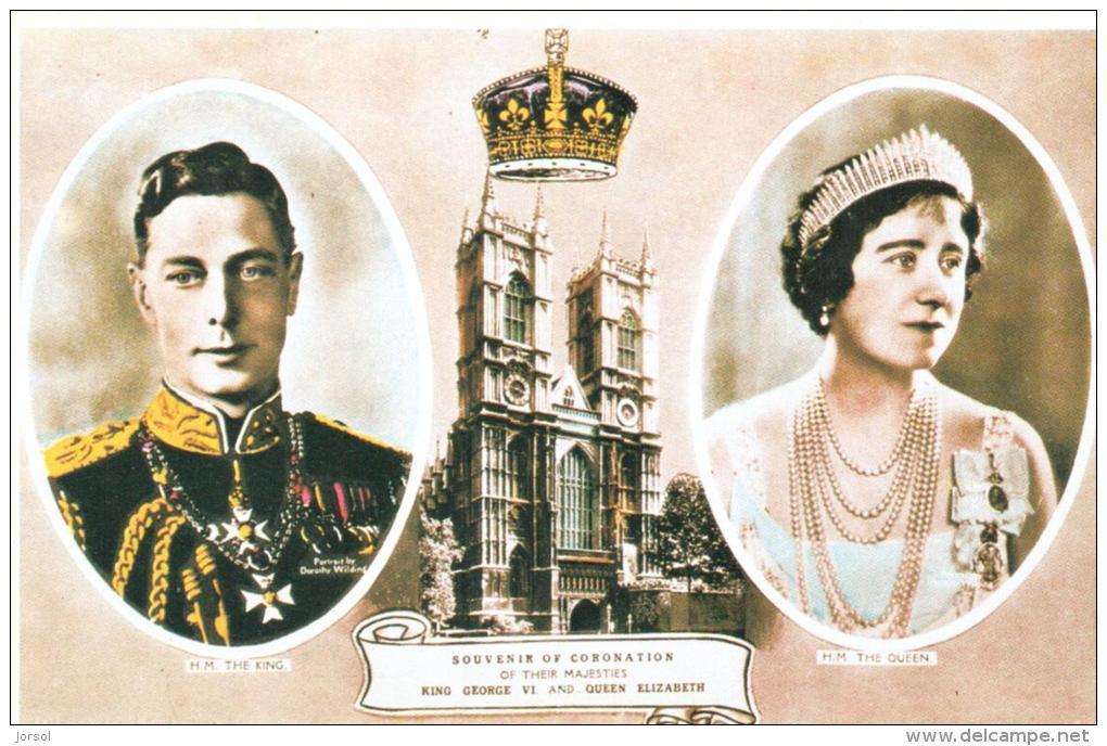 RECUERDO DE LA CORONACION DEL REY GEORGE VI Y LA REINA ELIZABE4TH - Otros