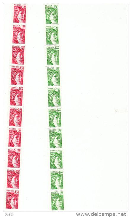 ROULETTE NEUF TB** N° 71 / 72 - Rollen