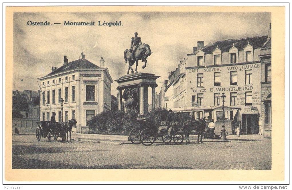 OSTENDE    ----   Monument  Léopold - Oostende