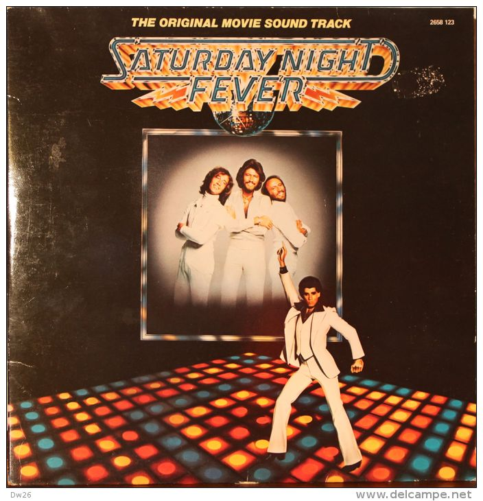 Saturday Night Fever - Bee Gees - Pochette 2 Disques - Rock
