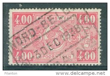 """BELGIE - OBP Nr TRE 156 - Cachet """"NORD-BELGE - SERAING"""" - (ref. 2095) - Bahnwesen"""