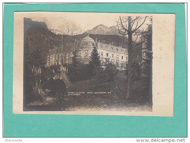 CPA  - 66 - VERNET LES BAINS  - Hotel Sanatorium N°2  Près De PRADES - France