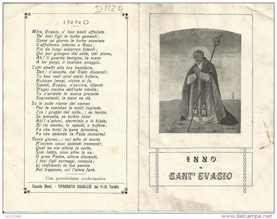 D 112 -INNO A SANT'EVASIO - Santini