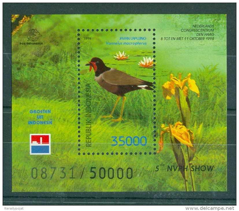 Indonesia - 1998 NVPH SHOW ´98 Block (2) MNH__(TH-10358) - Indonesia