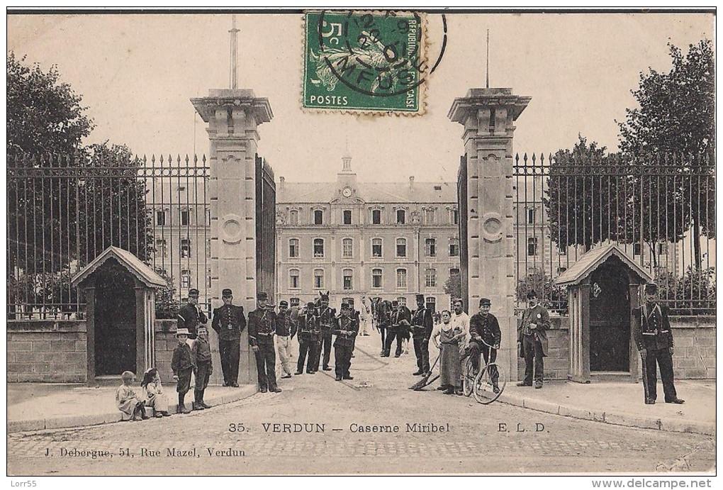 55 - VERDUN - Caserne Miribel - Verdun