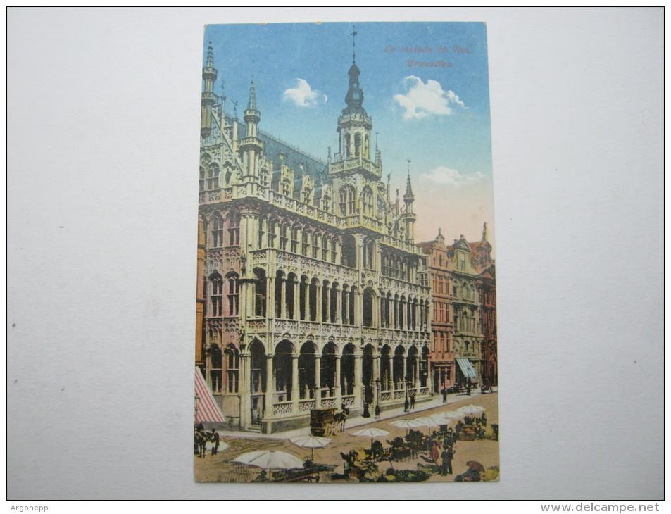 1917, Brüssel, Carte  Militaire - WW I