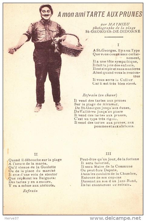 A Mon Ami Tarte Aux Prunes - Par Mathieu Photogrape De La Plage De SAINT GEORGES DE DIDONNE - Saint-Georges-de-Didonne