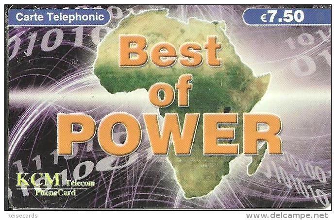 KCM Telecom: Best Of Power - Continent Africa - Frankreich