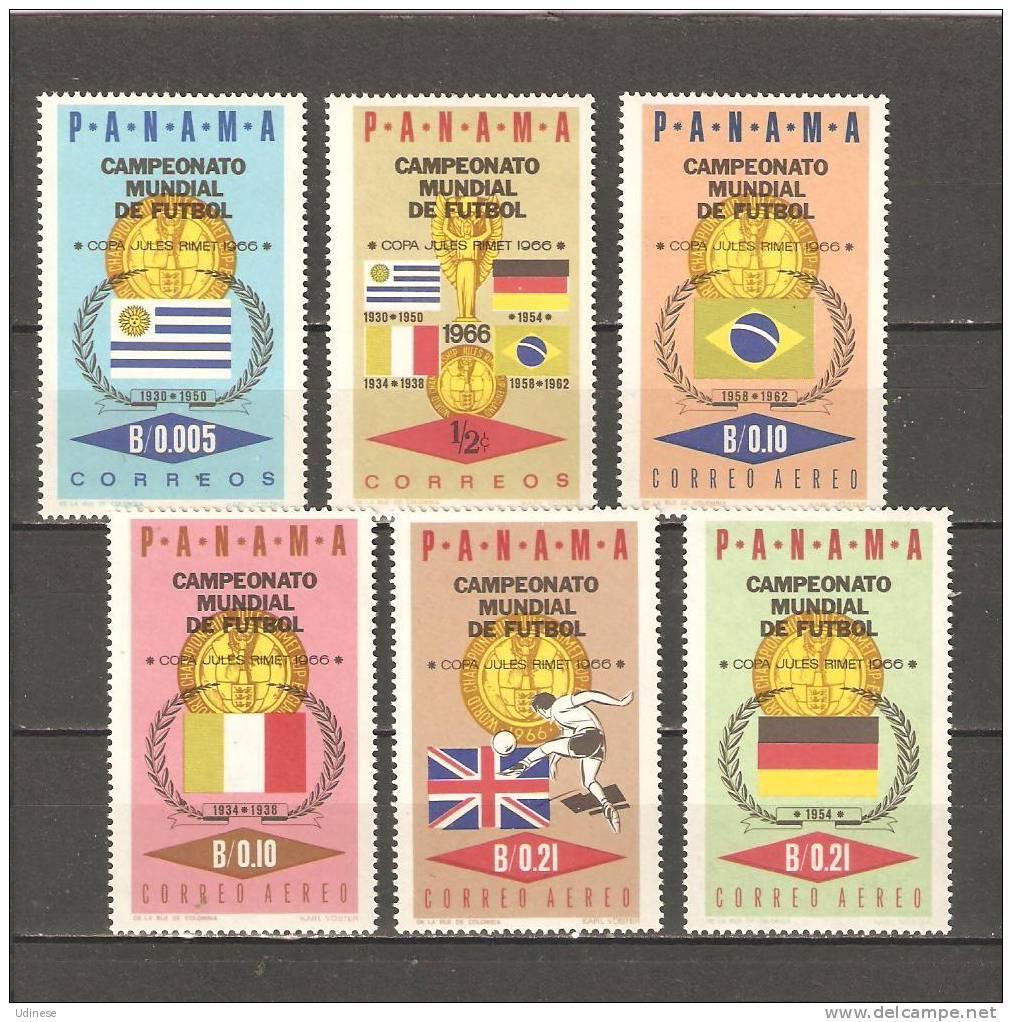 PANAMA 1966 - FOOTBALL WORLD CHAMP. WINNERS - CPL. SET  - MNH MINT NEUF - Coupe Du Monde