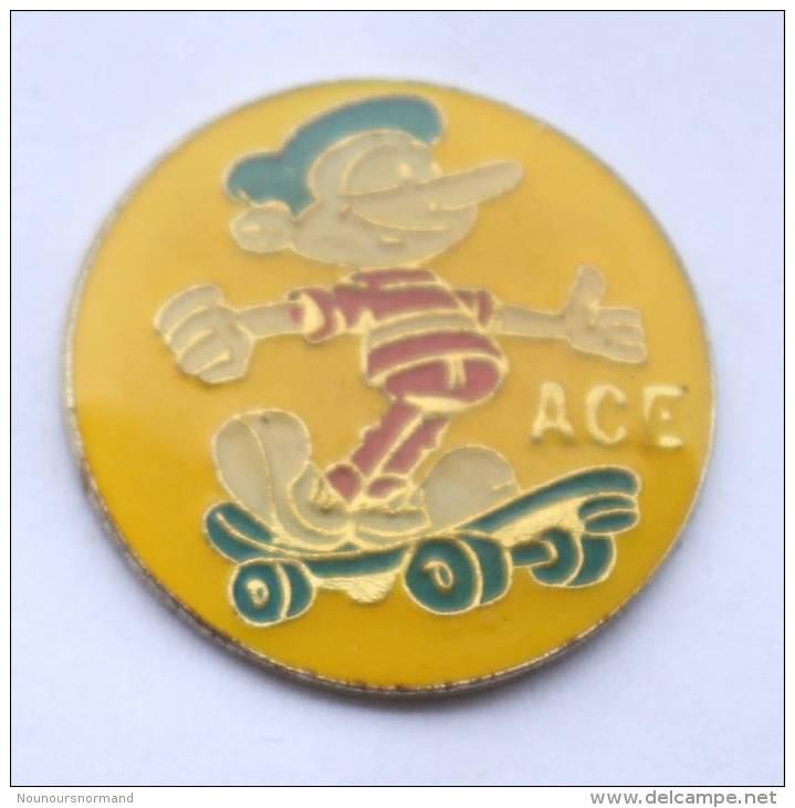 Pin's ACE - Skateboard - MBC - D015 - Skateboard
