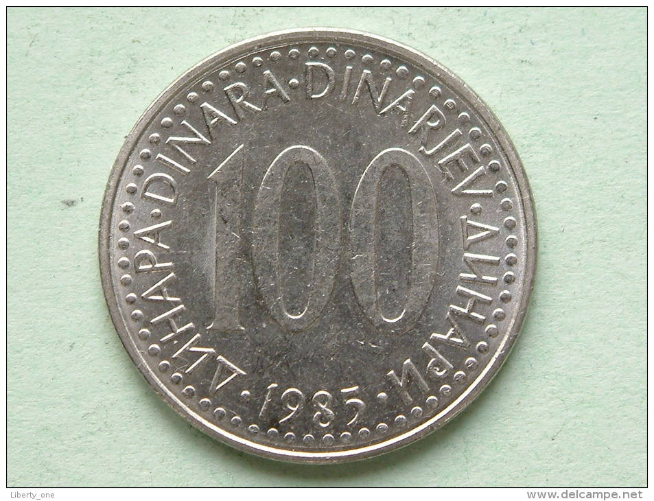 1985 - 100 DINARA / KM 114 ( For Grade, Please See Photo ) ! - Joegoslavië