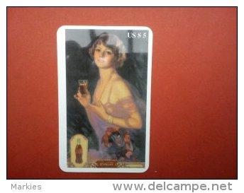 Phonecard Coca-Cola Retro Provider Bel International Communication  (Mint,New) Rare ! - Vereinigte Staaten