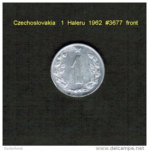 CZECHOSLOVAKIA    1  HALERU  1962  (KM # 51) - Czechoslovakia