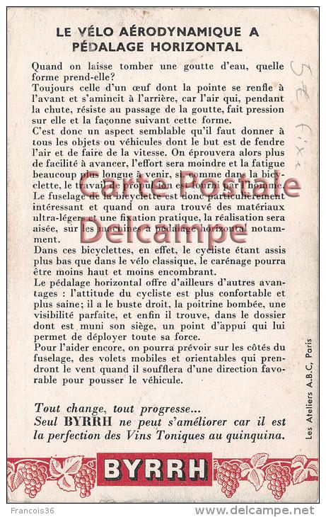""" Regards Sur L'Avenir "" Futur Future - Le Vélo Aérodynamique - Futuristic Bike - Vintage Card Circa 1920 - Fairy Tales, Popular Stories & Legends"