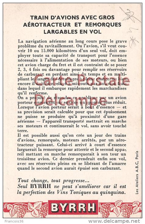 """ Regards Sur L'Avenir "" Futur Future -  Trains D'avions - Plane Train Aviation - Vintage Card Circa 1920 - Fairy Tales, Popular Stories & Legends"