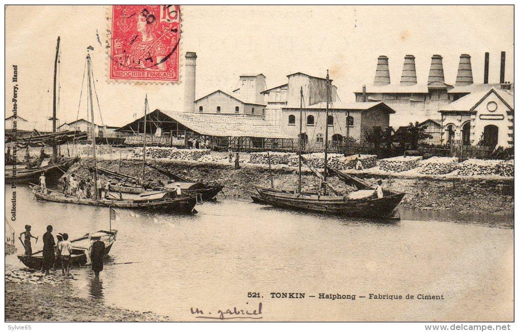 HAIPHONG - Tonkin - Fabrique De Ciment. - Vietnam
