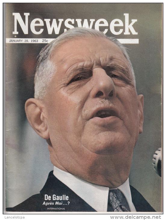 NEWSWEEK JANVIER 1968 / DE GAULLE - APRES MOI .......? - Nouvelles/ Affaires Courantes