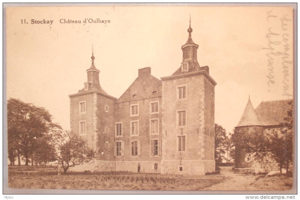 Stockay. Château D'Oulhaye - Saint-Georges-sur-Meuse