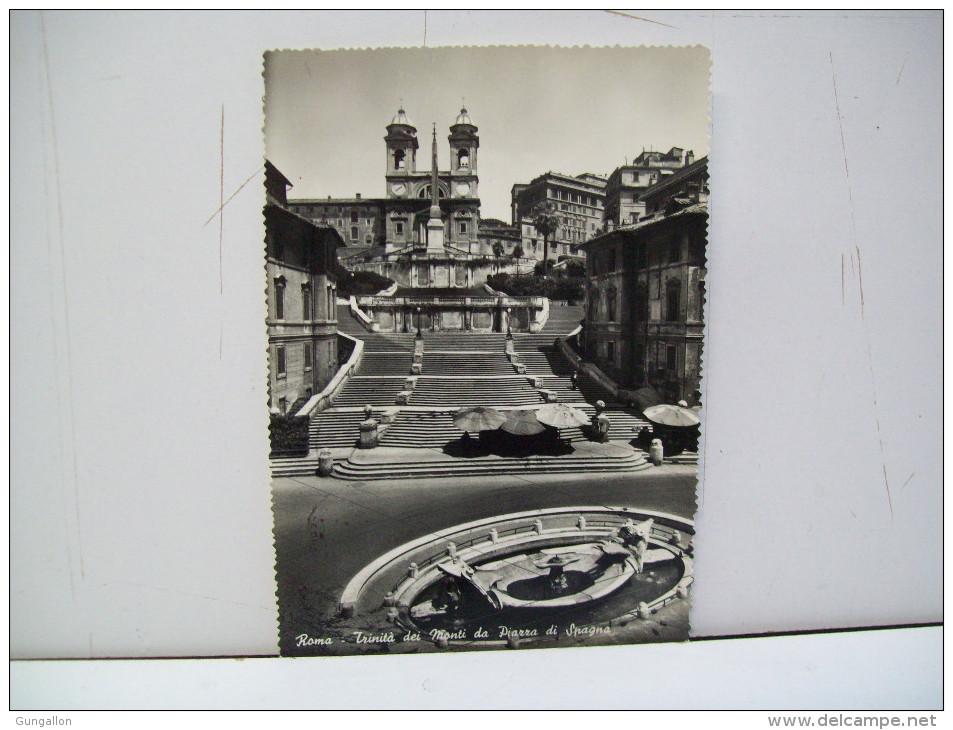 """Trinità Dei Monti - Piazza Di Spagna """"Roma""""  RM """"Lazio""""  (Italia) - Places & Squares"""
