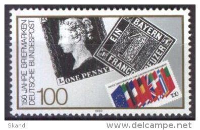 BRD RFA FRG 1990 Mi-Nr. 1479 ** MNH (84) - [7] Repubblica Federale