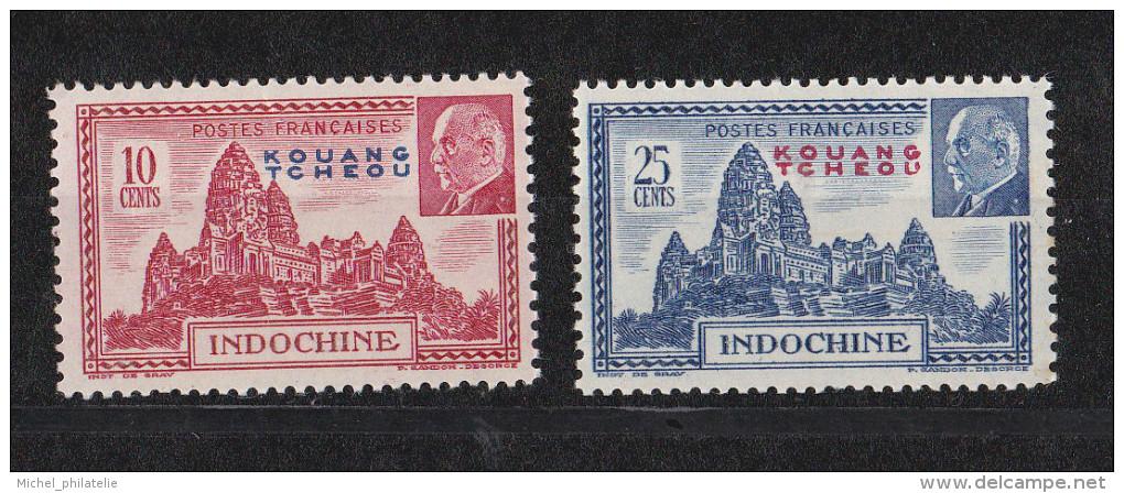 Kouang-Tchéou N° 13-139** - Unused Stamps