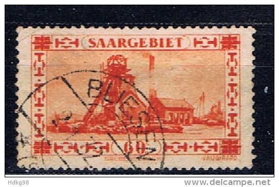 DR Saargebiet 1930 Mi 143 Förderanlage - Saar