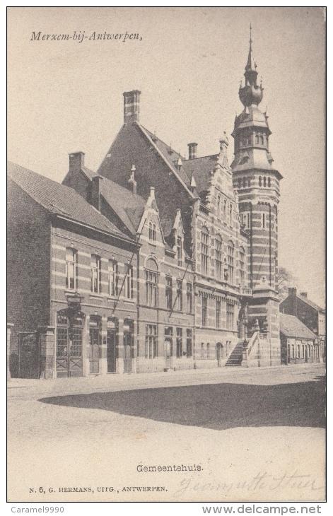 Antwerpen      Merksem Gemeentehuis                               Scan 6125 - Antwerpen