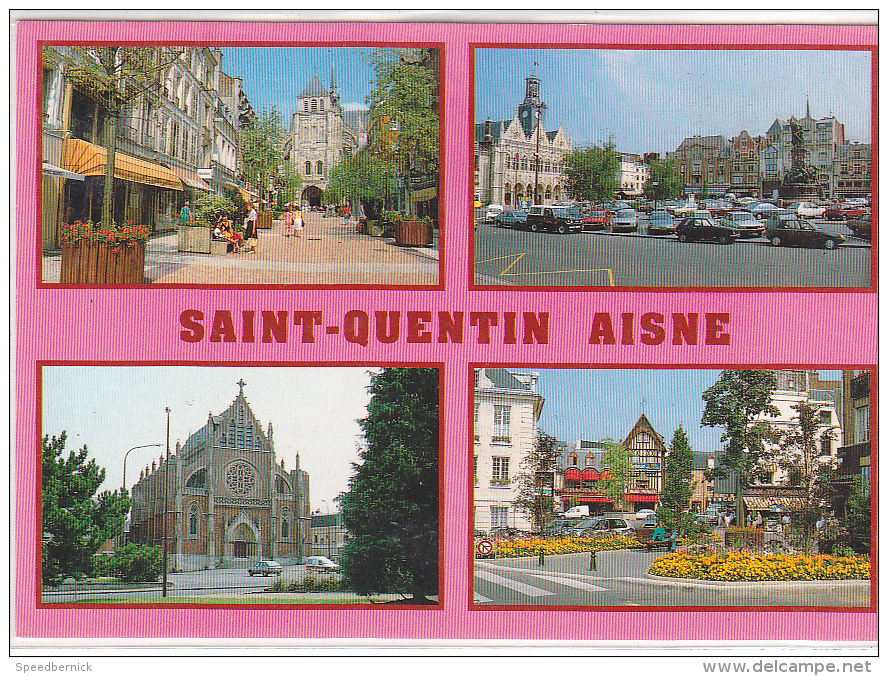 22255 Saint Quentin Rue Pietonne Isle -multi Vues Multivues -mage 0225VC124 - Saint Quentin