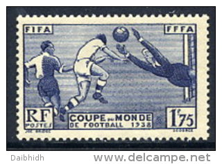 FRANCE 1938 Football World Cup VLHM / *.  Yv.396 - World Cup