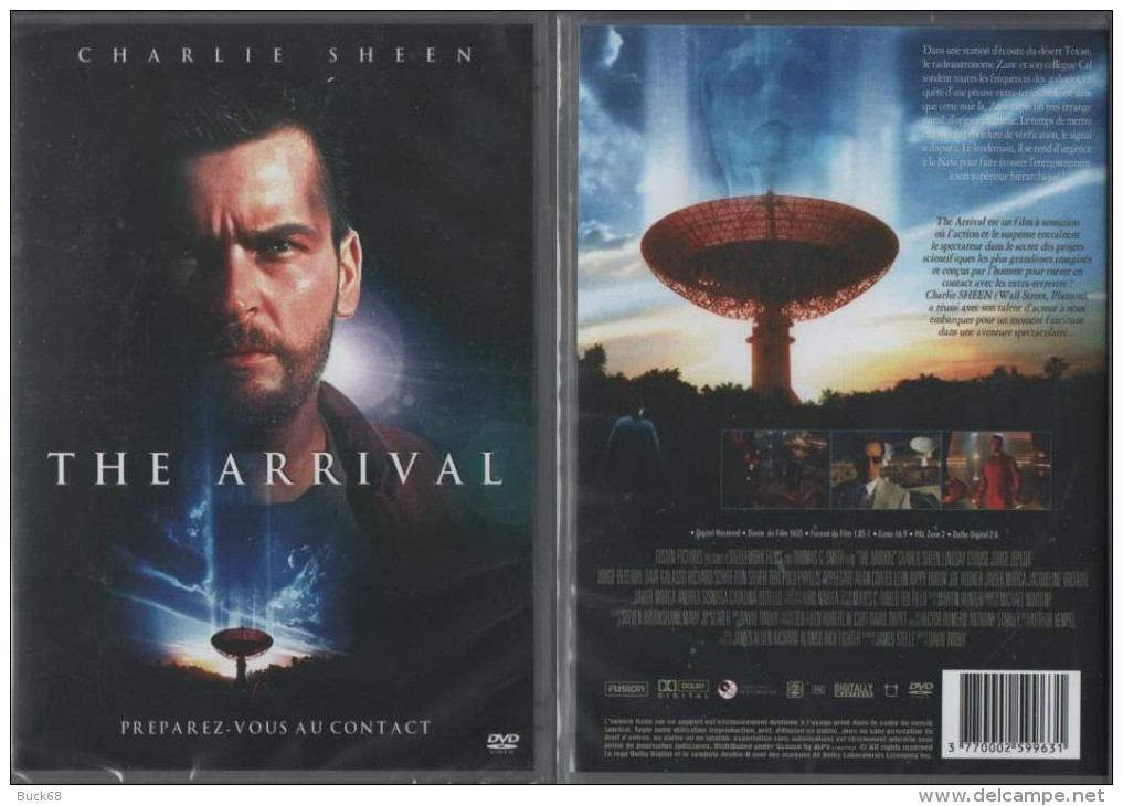 DVD The Arrival (Science-fiction) Avec Charles SHEEN (Wall Street, Platoon) - Science-Fiction & Fantasy