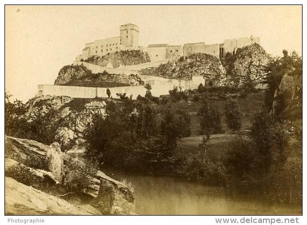 Fort De Lourdes 65110 Cauterets France Ancienne CDV Photo 1870 - Photos