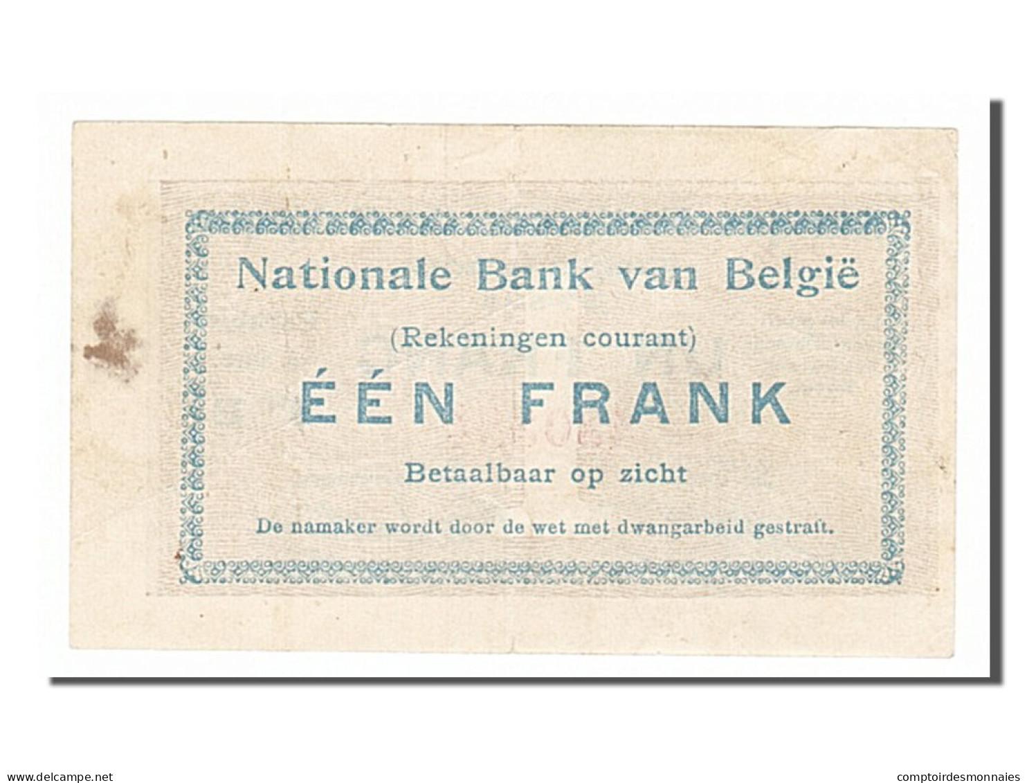 [#154140] Belgique, 1 Franc Type 1914 - Non Classés