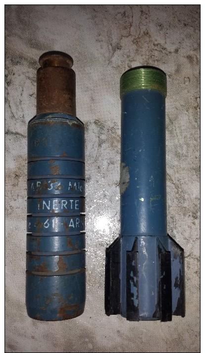Grenade A Fusil Française D´exercice Inerte - Armes Neutralisées