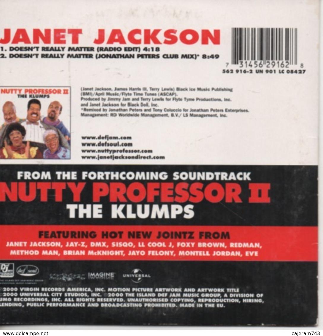 CD Single. Janet JACKSON. Doesn't Really Matter - Sonstige - Englische Musik