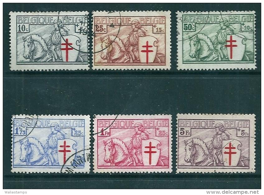 Belgium 1934 SG 670-6 Used - Belgique