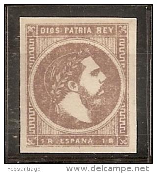 ESPAÑA 1875 - Edifil #161- MNH ** - 1875-1882 Kingdom: Alphonse XII