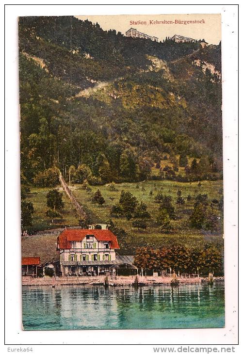 Suisse (LU) - Station-Kehrsiten-Bürgenstock - LU Lucerne