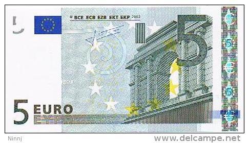 Italia 2002 €. 5 P13175113681 - E004I3 - Nuova Circolata - EURO