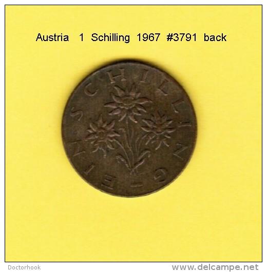 AUSTRIA   1  SCHILLING  1967  (KM # 2886) - Austria