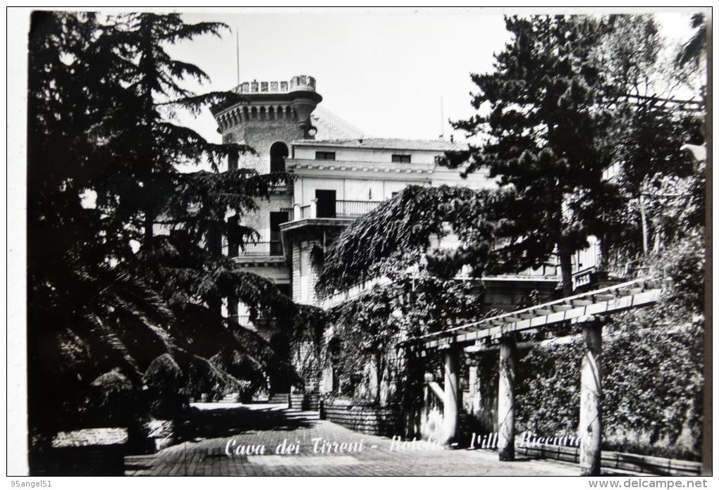 CAVA DEI TIRRENI - ROTOLO - VILLA RICCIARDI - Cava De' Tirreni