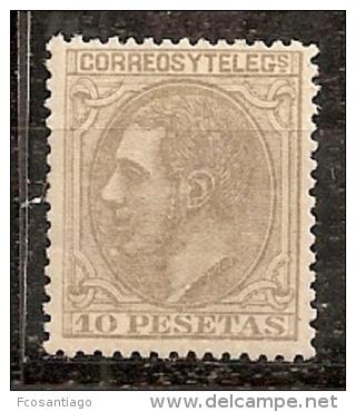 ESPAÑA 1879 - Edifil #209a - MNH ** - 1875-1882 Reino: Alfonso XII