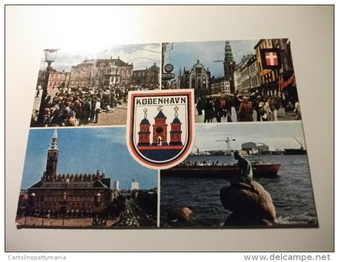 Storia Postale Francobolli Commemorativo Danimarca  Copenhagen - Danimarca