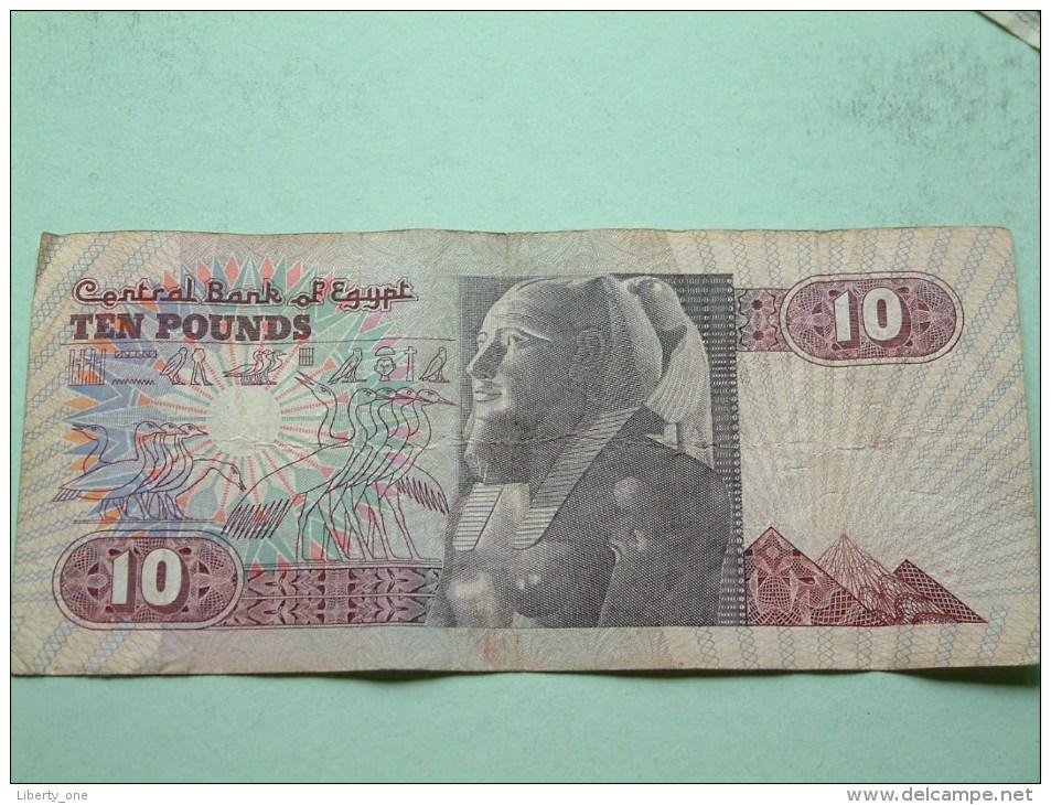 TEN POUNDS ( For Grade, Please See Photo ! - Egypte