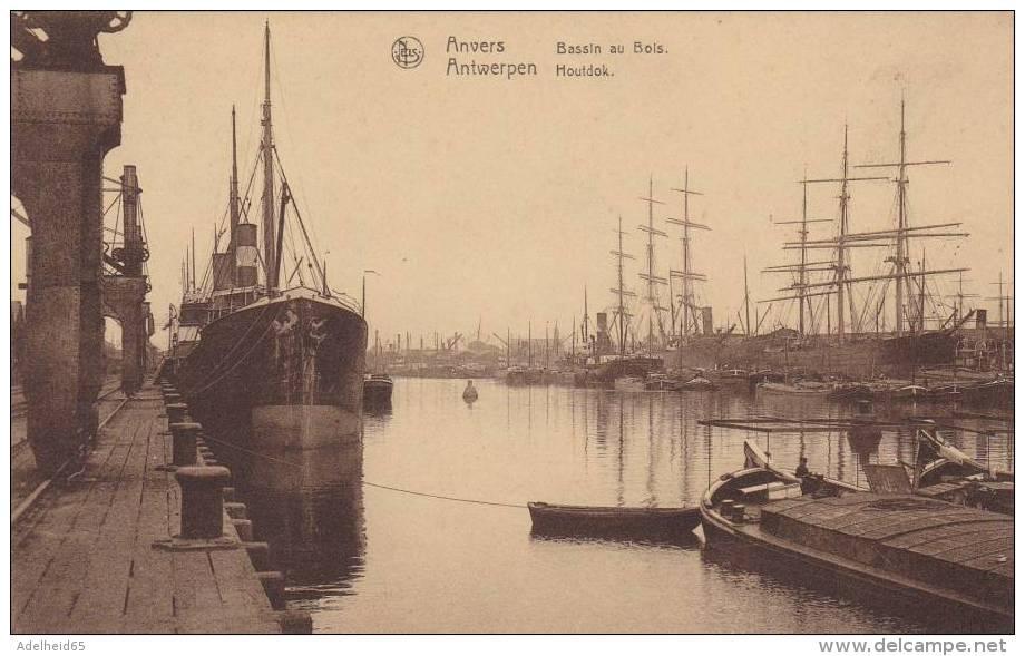 AZE34/ Antwerpen Anvers Antwerp Thill Série 25 N°20 Houtdok Bassin Au Bois Boot Bateau Ship - Antwerpen