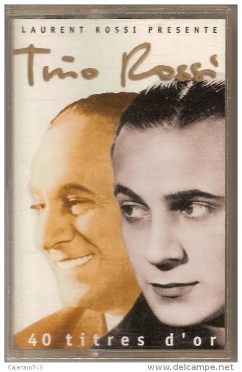 K7 Audio.Tino ROSSI.  40 Titres D'OR. - Audiokassetten