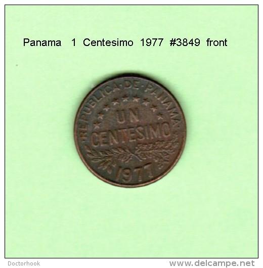 PANAMA    1  CENTESIMO  1977   (KM # 22) - Panama