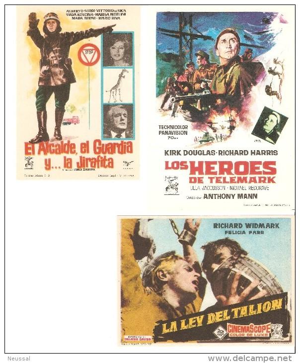 3 Carteles De Cine Diferentes.3 - Autres Collections