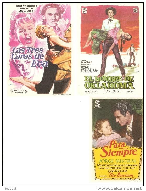 3 Carteles De Cine Diferentes.10 - Autres Collections