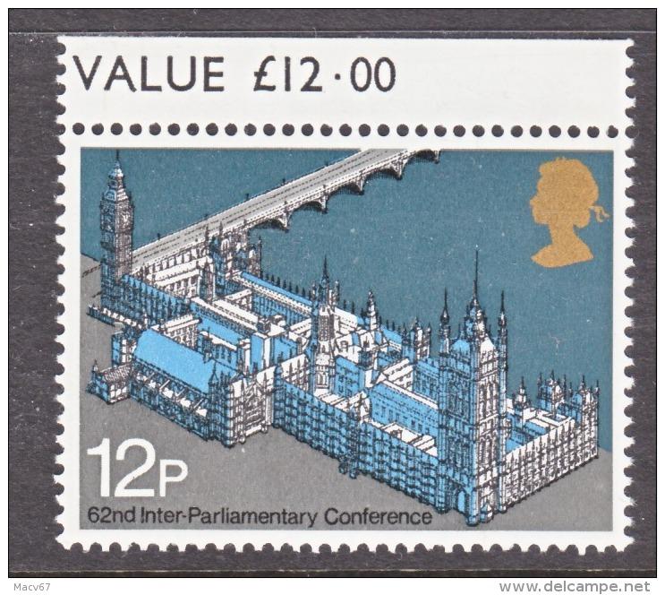 GREAT  BRITAIN  753    **   PARLIAMENT - Unused Stamps