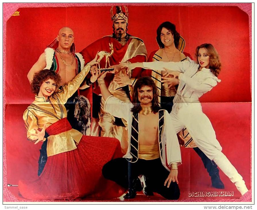 Musik-Poster  Dschinghis Khan  -  Rückseite : Eric Heiden   -  Von Rocky Ca. 1980 - Plakate & Poster